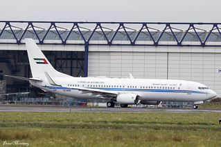 Dubai Air Wing 737-800(BBJ) A6-MRM