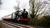 The train in rain (Peter Leigh50) Tags: great central railway witherslack hall 6990 gcr steam train railroad transport rain wet dark