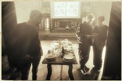 Mise en Place (Giorgio Verdiani) Tags: firenze florence people gente italy italia architecture architettura sigma dp0 14mm quattro digitalcamera fotocameradigitale shadow ombra light luce church chiesa exhibition mostra miseenplace dida dipartimentoarchitettura sun sole santaverdiana tuscany toscana filippo giovanna marcello