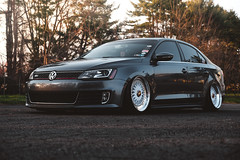 GLI (Mike Burns Photography) Tags: volkswagen jetta gli airliftperformance bbs rs bbsrs bbswheels fitment bagged
