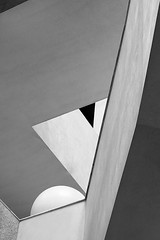 Shapes Study 36 (StefanB) Tags: 1235mm 2017 abstract architecture em5 geotag light sanjose shapes shapesstudy usa techmuseum detail