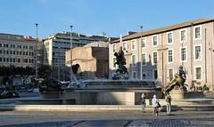 Plaza de la República (Roma, Italia, 15-10-2017) (Juanje Orío) Tags: 2017 roma rome italia italy patrimoniodelahumanidad worldheritage plaza fuente fountain escultura sculpture agua water