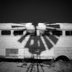 Old tourist bus