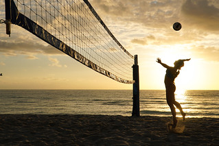 Morning Volleyball
