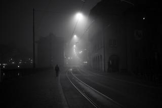 sunday morning fog walk