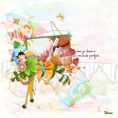 Un goût d'enfance de Cocotounette Design (Veronique Thuria) Tags: digital scrap