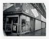 Gary, IN (moominsean) Tags: polaroid 190 instant fuji fp3000b indiana gary midwest downtown broadway wigs rain