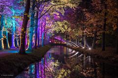 Enchanted Gardens 2017 - Kasteeltuinen - Arcen (NL) (André Schlüter Photography) Tags: enchantedgardens kasteeltuinen arcen nl holland netherlands nederland limburg parkilluminations illumination nachtaufnahme nightshot nikon d750