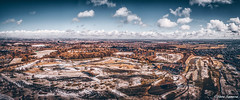 Rainhill (Steve Samosa Photography) Tags: rainhill snowscene snow panoramic dronecamera drone droneshot droneview aerial aerialview whiston england unitedkingdom gb