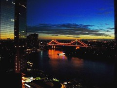 Brisbane River and Bridge (MadeleineVanWijkPhotography) Tags: