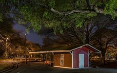 Happy Bench Monday (Jims_photos) Tags: texas trees unitedstates outdoor outside adobelightroom adobephotoshop shadows happybenchmonday jimallen jimsphotos jimsphotoswimberleytexas lightroom benchmonday nopeople nikond750 nightphotos nightshot newbraunfelstexas