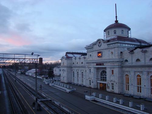 Вокзал в Ижевске ©  ayampolsky