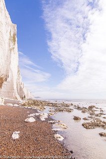 Seven Sisters cliffs from Cuckmere Haven beach *4*