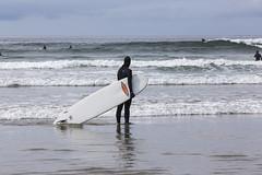 Long Beach Surfer (stephenisabellemaggie) Tags: longbeach tofino britishcolumbia beautifulbritishcolumbia surfer surf beach beachlife lifesabeach canada pacific canon6d canon70200f28lisiiusm