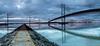 Three Bridges (brianmcg89) Tags: three 3 bridges queensferry river forth scotland todaysbest