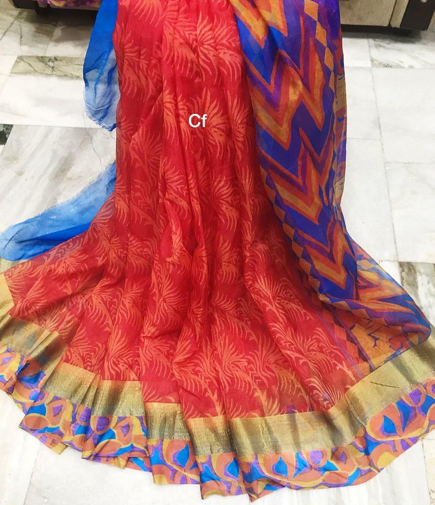 image Satin silk saree maid sucking dick