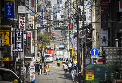 tippingthescale (matteroffactSH) Tags: seoul korea south southkorea asia urban city megacity dense density future futuristic modern architecture nikon d850 andrew rochfort andrewrochfort matteroffact gangnam district sinsa neighborhood korean sunny spring 2018 skyscraper buildings