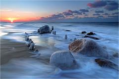 Ice on the Rocks (Sandra OTR) Tags: beach winter germany ostsee balticsea rocks icy frozen cold freezing weather storm mecklenburg