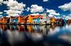 Groningen (vernerbrugger) Tags: sky boat water building groningen landscape house cloud thenetherlands nd16