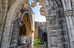 the Abbey of Beautiful Peace (werner boehm *) Tags: wernerboehm bellapaisabbey cyprus ruins kyrenia