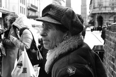 Portrait (M.a.r.ph) Tags: o aggiungi tag beta monochrome photoobserve hikaricreative streetbwcolour burn monocrom cibo negozio ritratto person