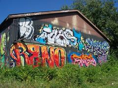 OH Columbus - Mural 88 (scottamus) Tags: columbus ohio franklincounty mural painting building art graffiti