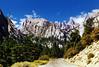 Her Majesty, Mt Whitney, CA 99 (inkknife_2000 (9 million views)) Tags: mtwhitney california tallestpeakinusa sierranevada skyandclouds mountains snowonmountains boulder cloudsandsky whitneyneedles fromaslide