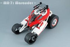 MR-7: Marauder (BobDeQuatre) Tags: lego moc scifi vehicle mars