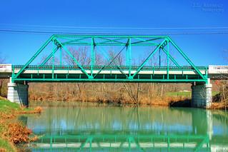 York Homestead Bridge - Pall Mall, Tennessee