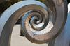 salmon waves (n.a.) Tags: ballard locks seattle wa us public art sculpture fish ladder salmon waves spiral metal