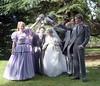 (vintage ladies) Tags: wedding 80s 80swedding pike kettering 3181985 bride we weddingdress brideandgroom groom