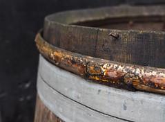 Barrel Hoop Rim (Orbmiser) Tags: mzuikoed1240mmf28pro 43rds em1 mirrorless olympus ore portland m43rds wooden barrel hoop nail