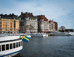 Stockholm (Greg Adams Photography) Tags: stockholm sweden europe scandinavia 2018 travels color water strand boat sky winter hhsc2000