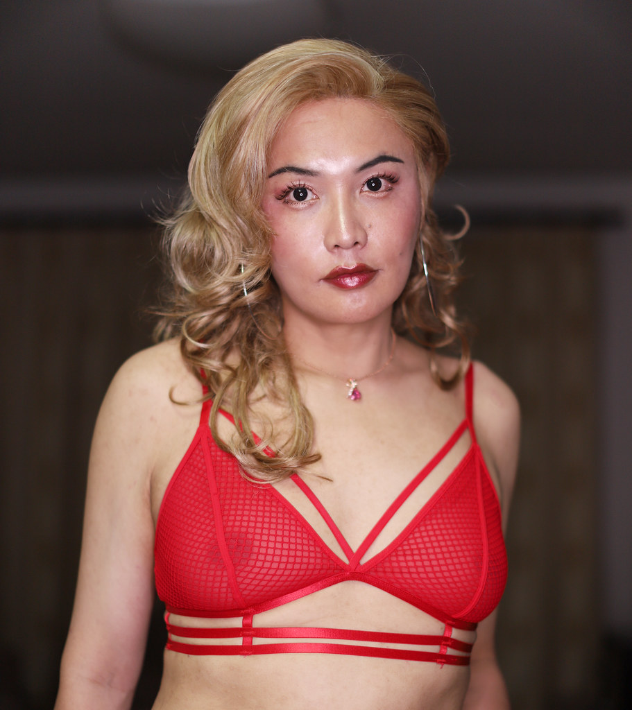 Shemale transexual crossdress makeover
