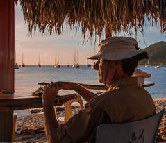 Scotish sailor gentleman (thierry_meunier) Tags: antilles caraïbislands caraïbes martinique beach city femme homme islands man navigation ocean rue street travel ville voilier voyage woman îles
