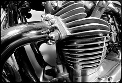 Yamaha, US Custom Special, 650. (CWhatPhotos) Tags: jap motorbiker engine twin exhaust motorbike motorcycle shocker shock absorber spring springs artistic view photographs photograph pics pictures pic picture image images foto fotos photography cwhatphotos that have which with contain olympus em5 esystem four thirds digital camera lens olympusem5mkii focus wide 43 fit mft micro yamaha 1979 us custom 650 bike yam yammy xs classic black samyang fisheye