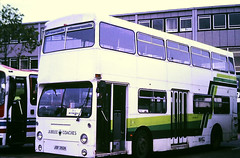 Slide 114-97 (Steve Guess) Tags: dms london transport lt daimler fleetline bus jubilee coaches stevenage hertfordshire herts england gb uk jgf392k
