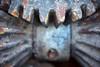 winch (primemundo) Tags: 100percent flickrfriday rusty gears winch macro abandoned