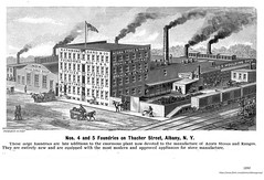 Rathbone and Sard Foundry  Thacher St.  1890 (albany group archive) Tags: north albany acorn stove old ny vintage photos photograph picture history historical historic