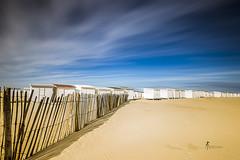 Cabanes (pierrelouis.boniface) Tags: longexposure pasdecalais pauselongue beach plage sable sun clouds canon france côtedopale calais 6d
