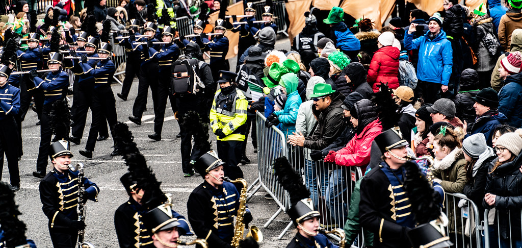 Legacy High School Lightning Marching Band [St. Patricks Day Parade 2018 In Dublin]-137538