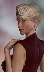 New Model : Lucy (foto_morgana) Tags: 3drendering 3dcharacters 3dhumanmodels 3dmodeling computergeneratedimagery unbiasedgprendering nvidiairayengine render rendering 3dimensionalart dazstudio410 3dsoftware photorealisticimagery on1photoraw2018 cgi imagery digitalart illusions personality character physiognomy portrait portraiture headshot profileview virtualart virtualworld virtualwoman caucasianwoman girl cutegirl prettygirl topmodel supermodel face lady stunningbeauty classicbeauty sultrygirl gorgeousgirl stare sideview eyelevelview attractivegirl sensual paleskin freckledskin freckledface freckles blondine halfturn shorthaircut hairstyle sultryeyes photoshoot amazingmodel talent mannequin posing earrings