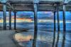 Morning Under the Pier (Michael F. Nyiri) Tags: huntingtonbeach sunrise california beach pier southerncalifornia morning