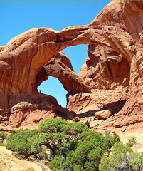 Double Arch, Arches NP, Utah 8-12 (inkknife_2000 (9 million views)) Tags: archesnationalpark utah redrock naturalarches nationalparksofamerica america usa landscapes scenery dgrahamphoto doublearch