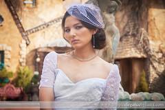 Classic Bride in a Fascinator (Laura K Bellamy) Tags: bride portraits bridal wedding weddings