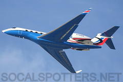 N709DS (SoCalSpotters) Tags: n709ds g650 gulfstream socalspotters