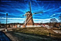 Windmill Evening (kendoman26) Tags: hss happyslidersunday windmill dutchwindmill fultonillinois nikon nikond7100 tokinaatx1228prodx tokina tokina1228 travelillinois enjoyillinois hdr nikhdrefexpro2 nikcoloreffex4pro