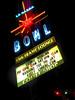 La Habra Bowl 300 (fe2cruz) Tags: ca california iphone neon sign night lahabra bowl bowlingalley vintage