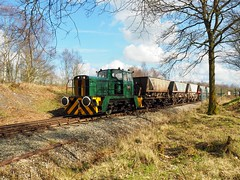 Industrial Shunter Event (rebeccadelaney45) Tags: chasewater country park enginesshunterdiesel sunlight