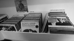Vinyl browsing 02 (byronv2) Tags: vinyl album record lp music musicshop vox boxrecord storerecord shopshopstockbridgeedinburghscotlandblack whiteblack white bw monochrome shopping ststephensstreet saintstephensstreet